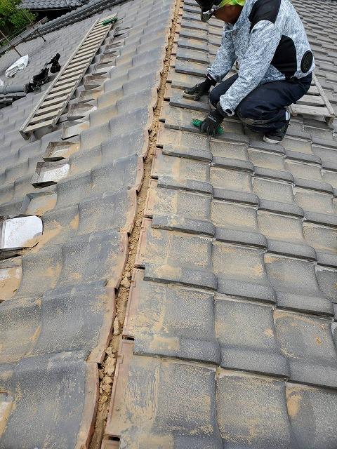 棟の解体後の掃除