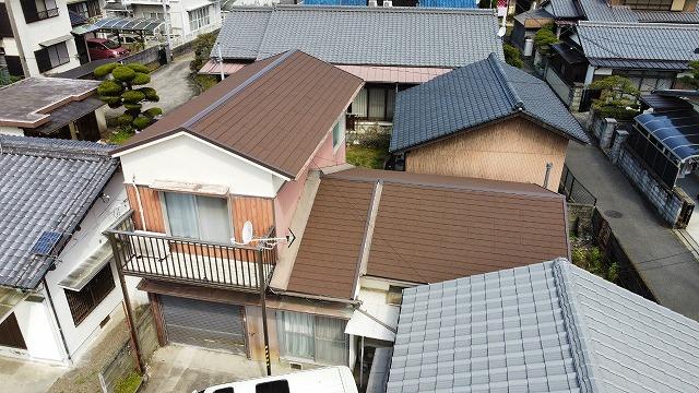 フックシングル屋根