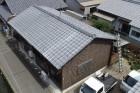 屋根の全体写真