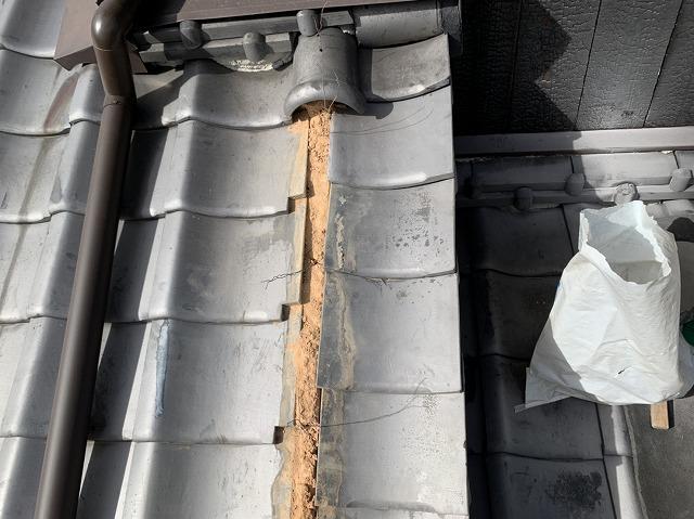 風切り丸の修理