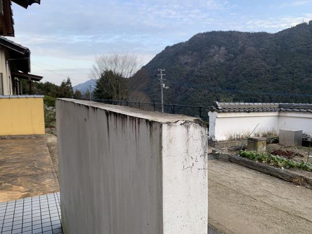 モルタル塀