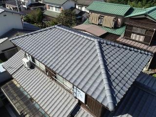 2階のみ屋根葺き替え工事