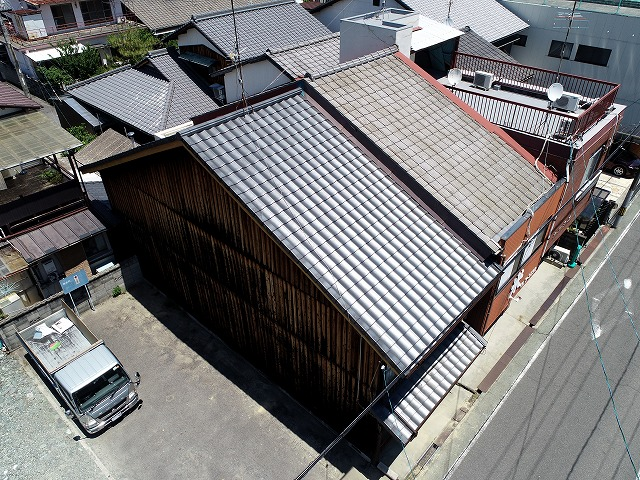 ルーガ雅の屋根