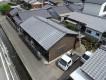セメント瓦当時の屋根の全体写真