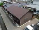 コロニアルに葺き替え後の屋根の全体写真