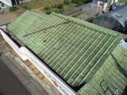 セメント瓦屋根