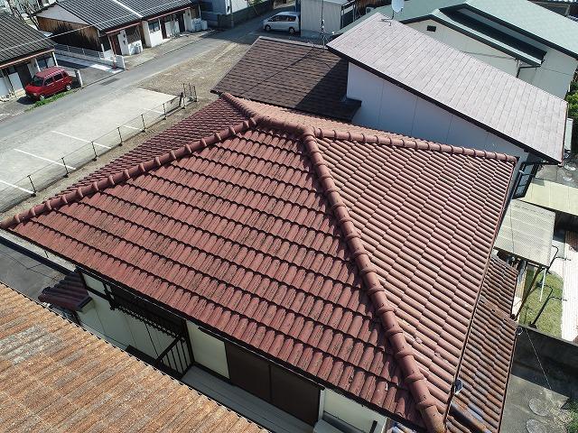 モニエルの寄棟屋根