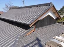 屋根葺き替え工事後の写真