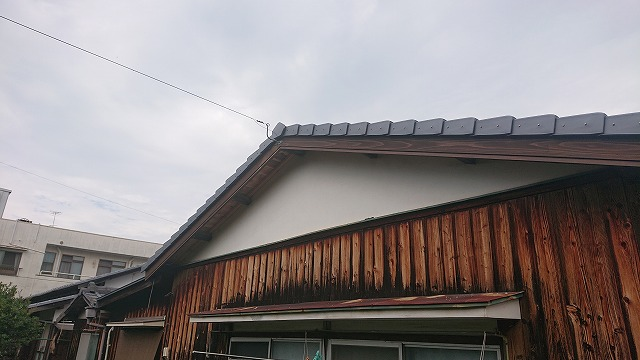 破風板の取り替え