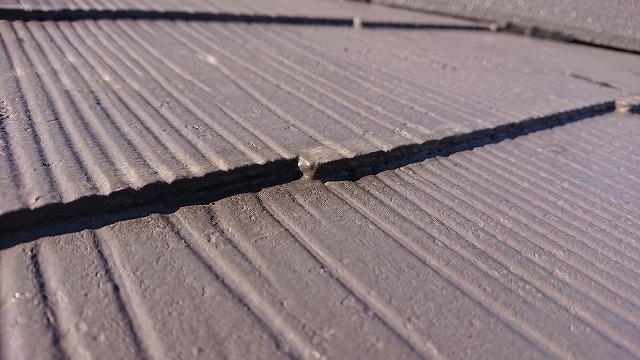 木口を塗料で塞がれたコロニアル