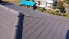 勾配の緩い屋根