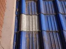 セメント瓦の修理