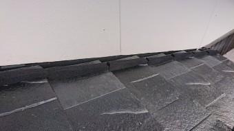 壁際の施工