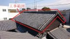 菊間瓦の屋根
