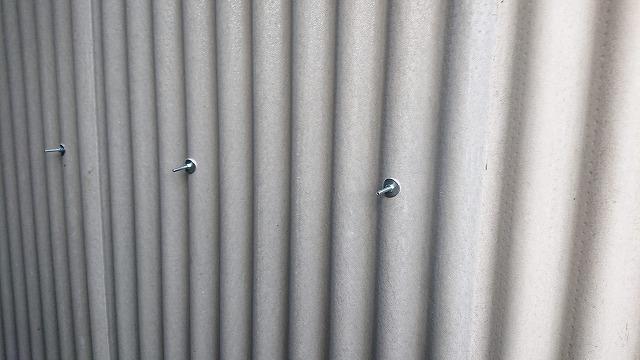 外壁の波スレート