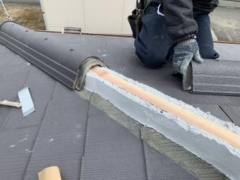 棟部材の復旧