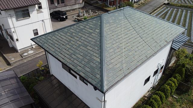 四国中央市土居町でコロニアル屋根のカバー工法のお問い合わせ
