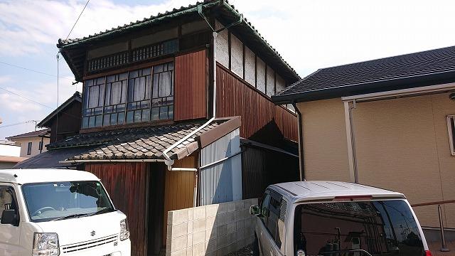 新居浜市西町で屋根工事の見積りを行いました